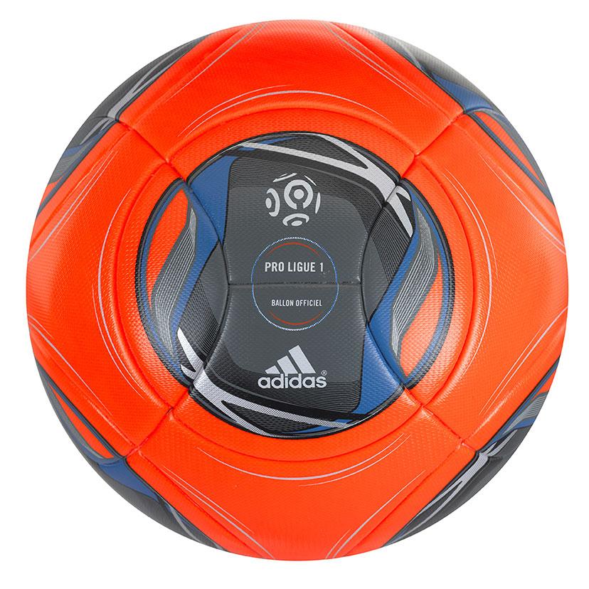 Nouveau ballon orange adidas pour la seconde moiti du championnat de ligue 1 2013 2014 - Coupe de la ligue 2013 2014 ...