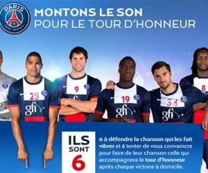 Le PSG Handball lance l'opération «Montons le son»
