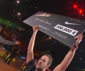 Shoot à 100 000 euros réussi par un Fan lors du All Star Game 2013 de Basket