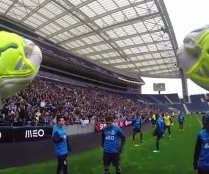 Le FC Porto se met à la GoPro le temps d'un entraînement devant 10 000 Fans