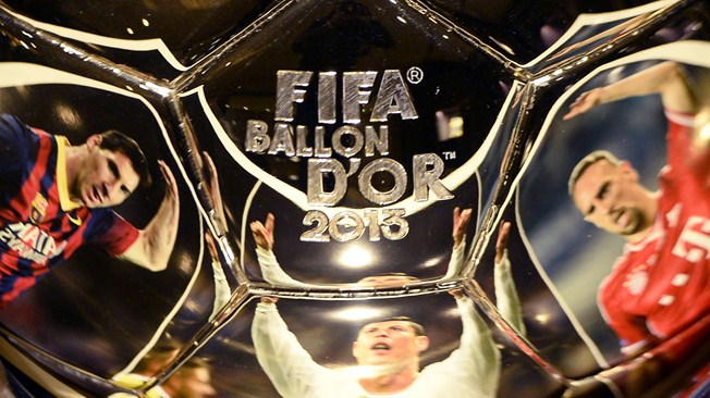 FIFA ballon d'or 2013