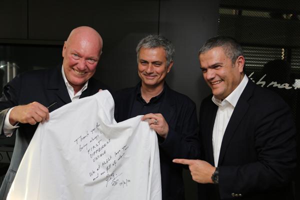 José Mourinho hublot Ricardo Guadalupe Jean-Claude Biver