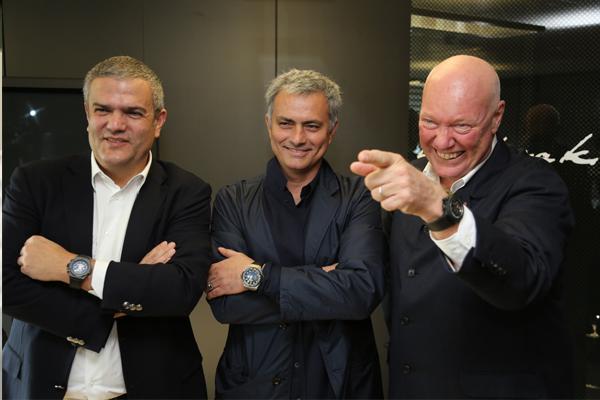 José Mourinho hublot Ricardo Guadalupe sponsoring