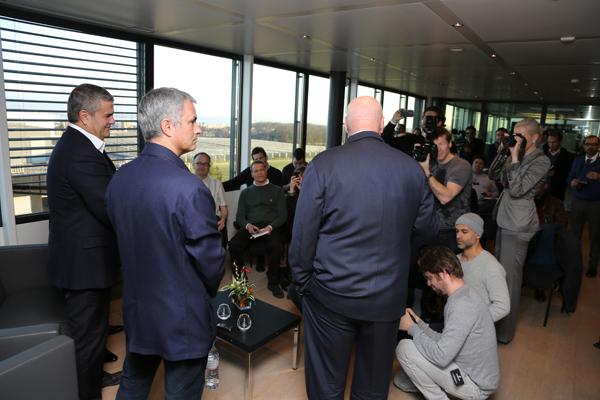 José Mourinho hublot Ricardo Guadalupe