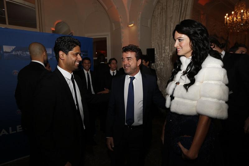 Nasser-Al-Khelaifi-Jade-lagardère-arnaud-fondation-PSG