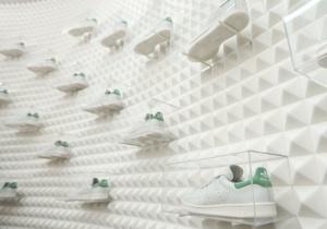 Store 3d D'adidas De Avec Londonien L'impression Le Pop Up iOZuPkX