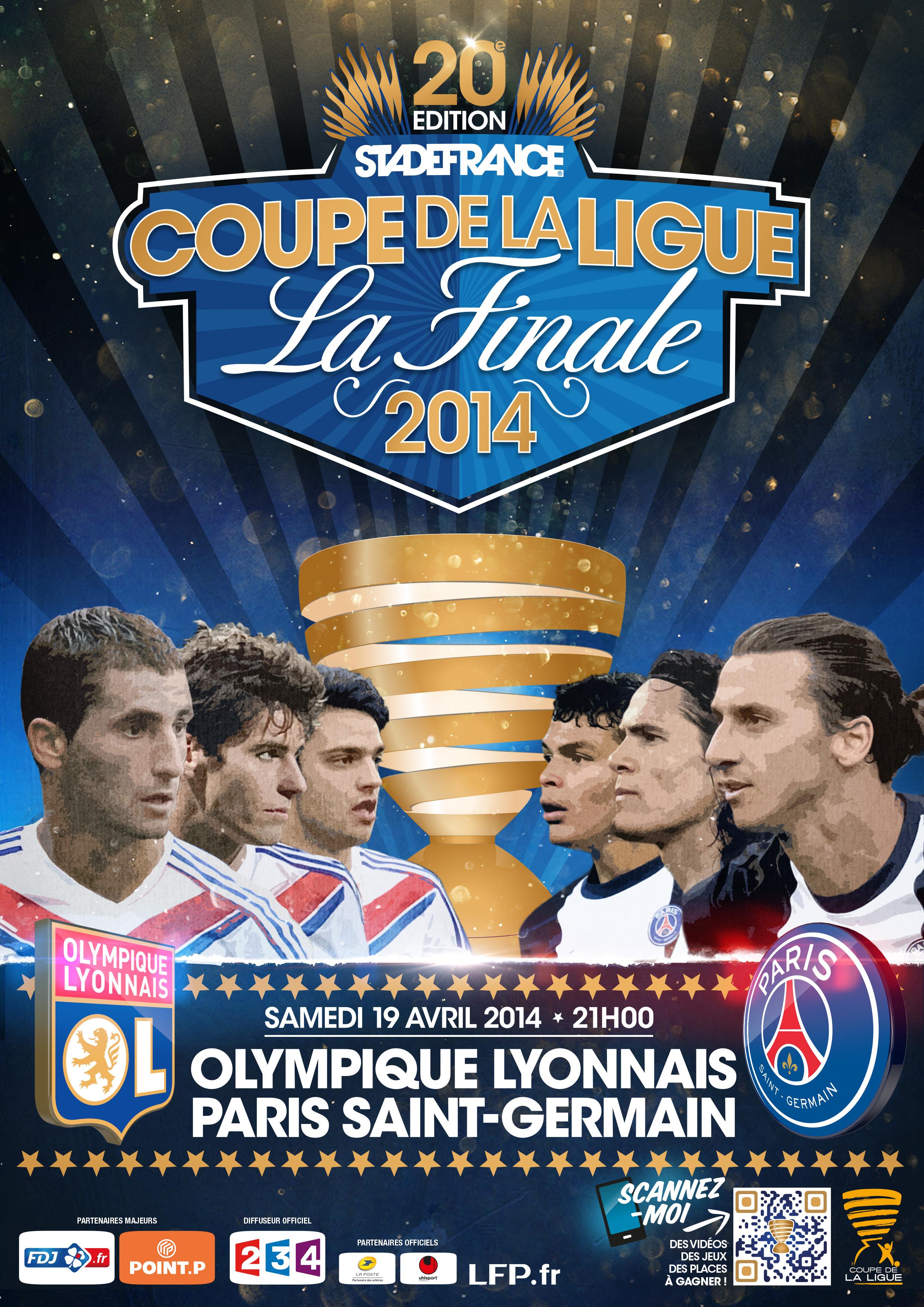 Ol psg 1 72 million d 39 euros pour le vainqueur de la - Resultat psg st etienne coupe de la ligue ...
