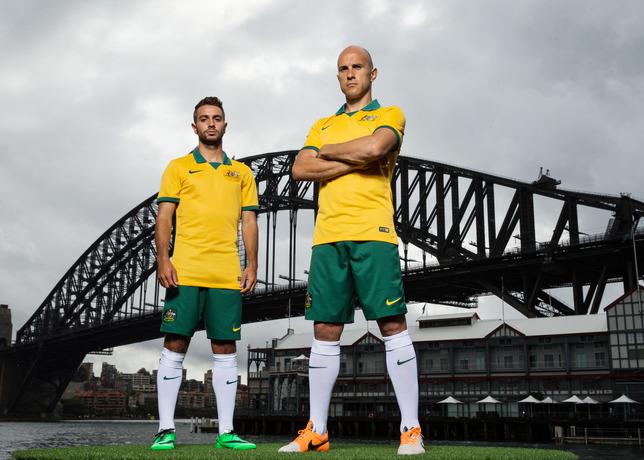 Nike football d voile le nouveau maillot de l 39 australie - Maillot allemagne coupe du monde 2014 ...