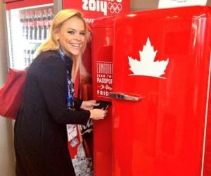 Le Frigo Molson «buzz» à Sochi : Bières gratuites aux détenteurs d'un passeport canadien