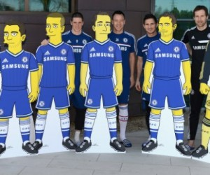 Chelsea FC s'associe aux Simpsons