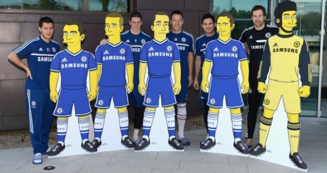 chelsea FC simpsons
