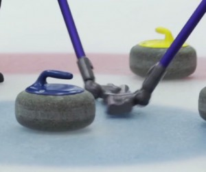 Les aspirateurs Dyson très utiles pour le Curling !