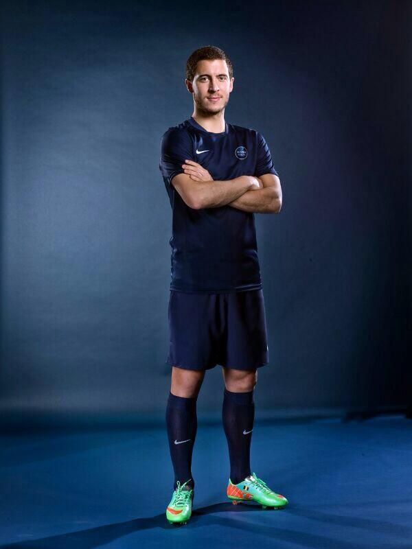 eden Hazard NIVEA MEN belgique sponsoring