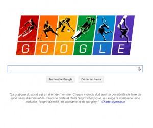 Sochi 2014 – Google aux couleurs du drapeau arc-en-ciel «gay»