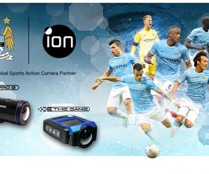 iON Camera nouveau Partenaire de Manchester City en remplacement de GoPro