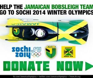 Sochi 2014 – L'équipe jamaïcaine de bobsleigh récolte 150 000$ grâce au sponsoring participatif