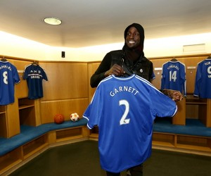 Chelsea FC accueille le joueur NBA Kevin Garnett