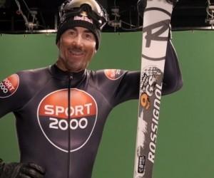 Luc Alphand prête son image à Sport 2000