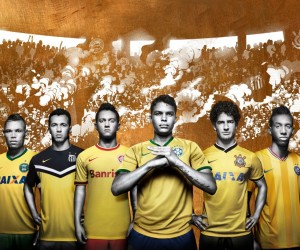 Nike rend hommage au football brésilien avec un maillot third pour 5 de ses clubs