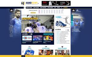 nouveau site handnews handball