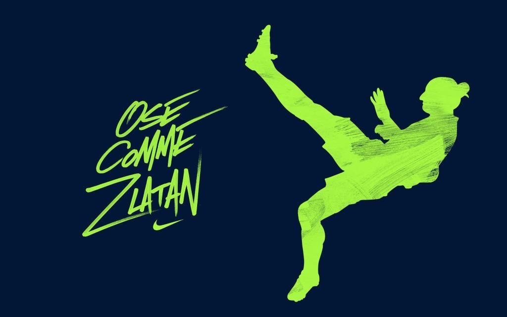 ose comme zlatan Nike ibrahimovic PSG
