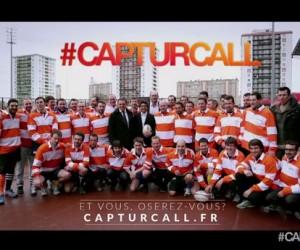 Renault et l'humoriste Vérino offrent un entraînement de rugby VIP surprise à des amateurs ! #capturcall