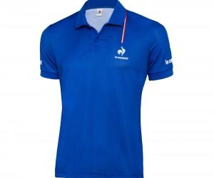 La tenue spéciale Coupe Davis de Richard Gasquet (le coq sportif)
