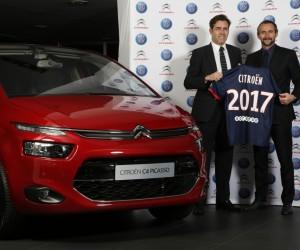 Citroën prolonge son partenariat avec le Paris Saint-Germain jusqu'en 2017