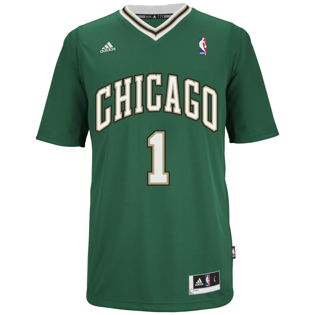Bulls St Patrick's Day jersey