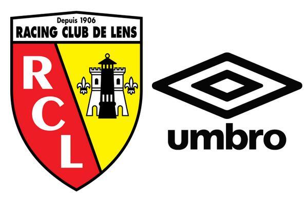 RC Lens umbro sponsoring