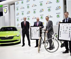 SKODA prolonge son partenariat avec le Tour de France jusqu'en 2018
