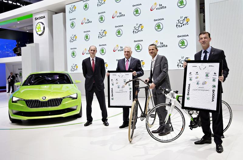 SKODA - official partner Tour de France  2018