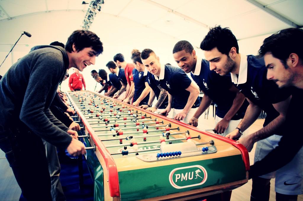 baby foot PMU équipe de france football