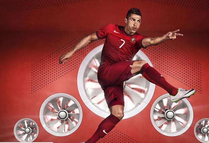 Cristiano ronaldo d voile le nouveau maillot nike du portugal via twitter - Coupe de cristiano ronaldo 2014 ...