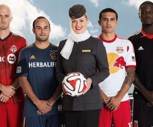 Etihad Airways devient la Compagnie Aérienne Officielle de la MLS