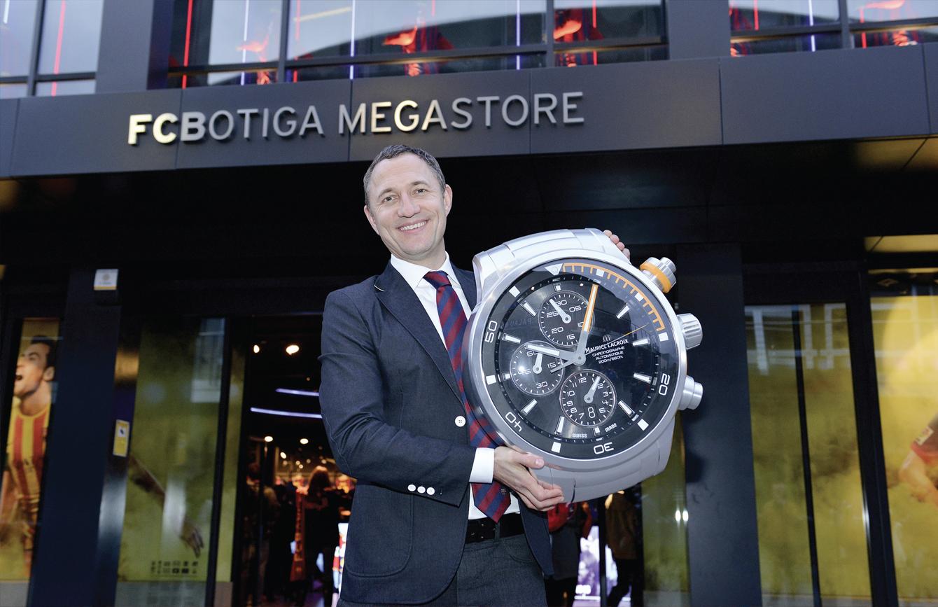 """Maurice Lacroix nouveau """"Partenaire Horloger Officiel"""" du ..."""