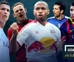 TOP 10 des footballeurs les plus riches (Goal Rich List 2014)