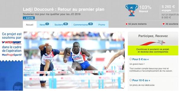 ladji doucouré sponsoring participatif