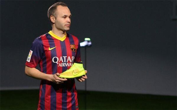 magista nike Iniesta barcelona