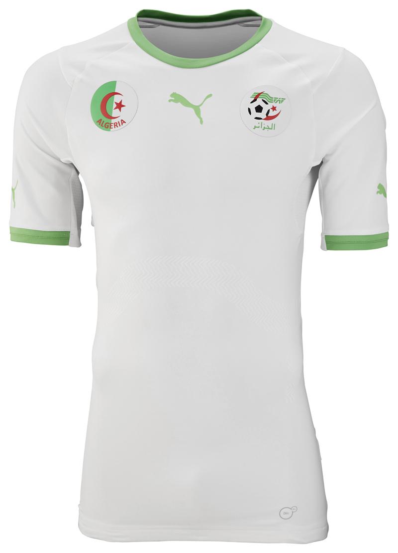 Coupe du Monde 2014 Nouveaux Maillots de l'Algérie (PUMA)