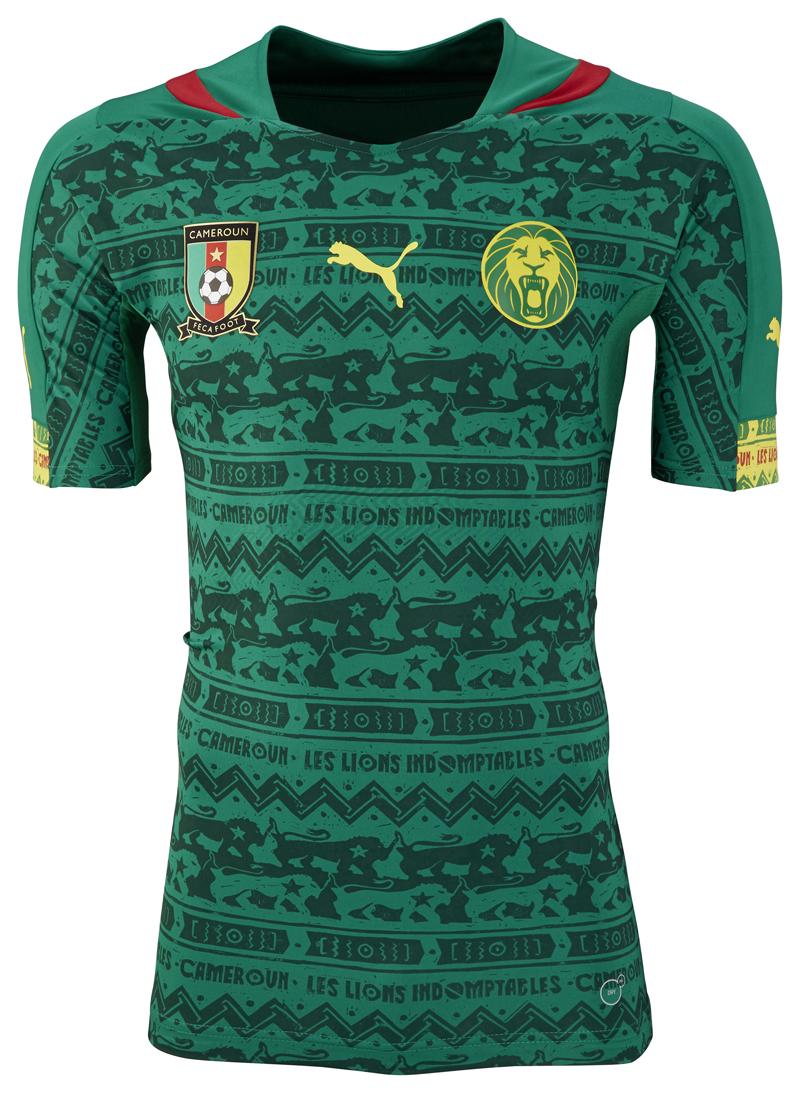 Coupe du monde 2014 nouveaux maillots du cameroun puma - Maillot allemagne coupe du monde 2014 ...
