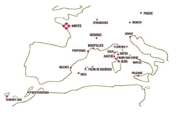 volotea destinations