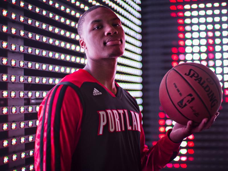 Damian Lillard adidas deal shoe NBA
