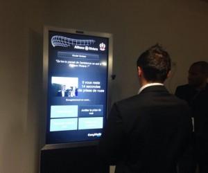 L'Allianz Riviera inaugure son #SocialScreen à l'occasion du match OGC Nice – PSG