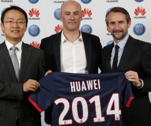 Huawei nouveau Partenaire Officiel du PSG (smartphones et phablettes)
