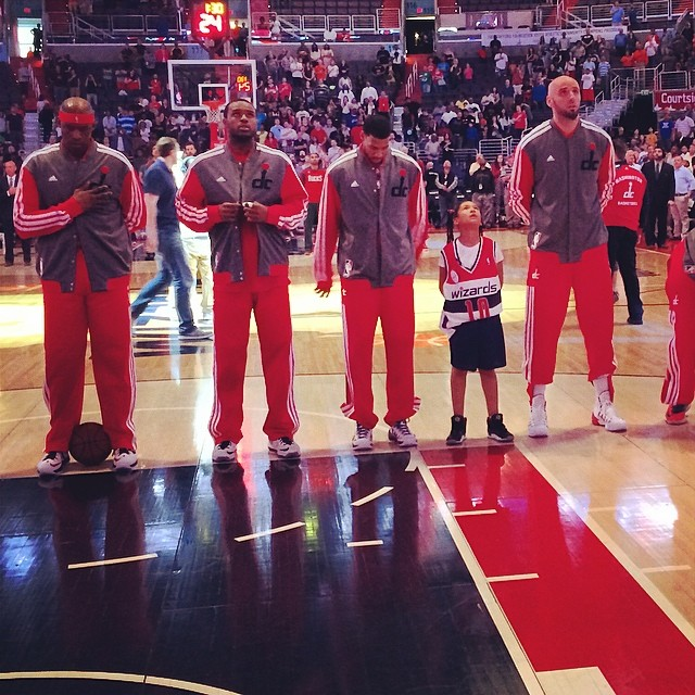 amarys jackson washington wizards NBA fan experience