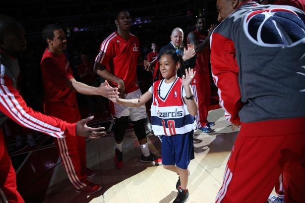 amarys jackson wizards contract NBA fan