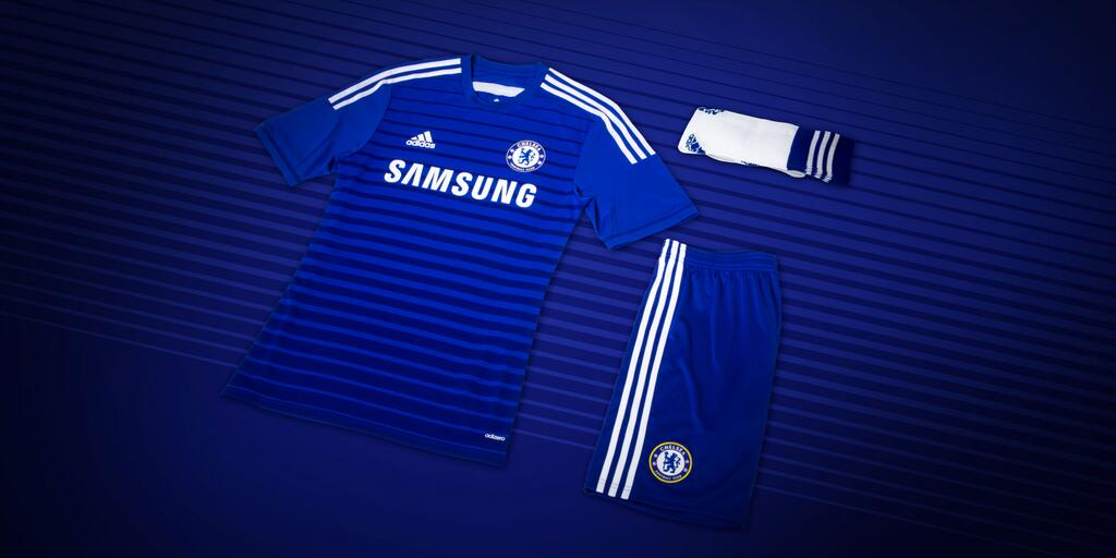 chelsea fc home kit 14 15 adidas