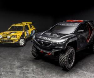 Dakar 2015 – Découvrez la Peugeot 2008 DKR !