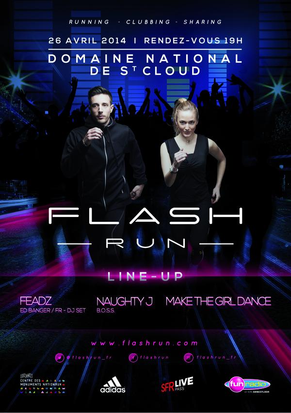 flash run 2014 running